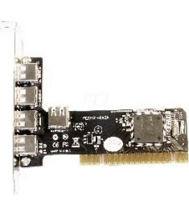 Tarjeta pci 4+1 puertos usb 2.0 480mbps - Imagen 1