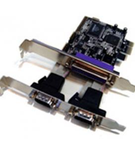 Tarjeta pci express 2 serie 1 paralelo bajo perfil - Imagen 1
