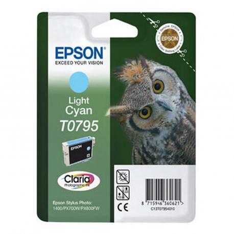 CARTUCHO EPSON T0795 11.1ML CIAN - Imagen 1