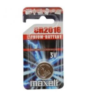 Blister maxell pila boton litio cr2016 3v / 1 unidad