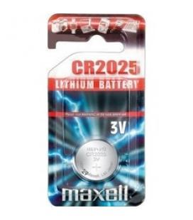 Blister maxell pila boton litio cr2025 3v / unidad