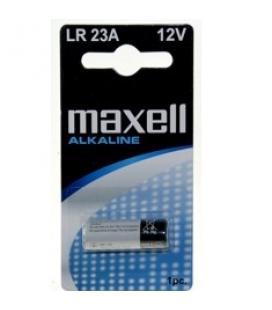 Blister maxell pila alcalina 023a / lr-23a / 1 unidad / mando cochera / calculadora