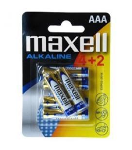Blister maxell 4+2 pilas alcalinas aaa lr-03