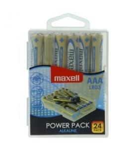 Blister maxell 24 pilas alcalinas aaa lr-03 power pack