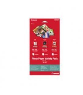 Pack papel fotografico canon vp-101 / 10h gp-501 10x15 / 5h pp-201 10x15 / 5h sg-201 10x15