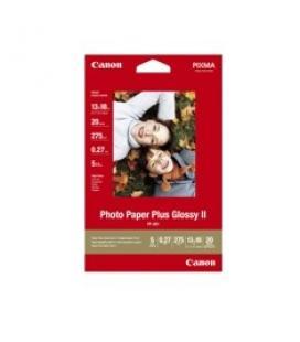 Papel canon foto pp-201/ 130 x 180 mm/ 20 hojas