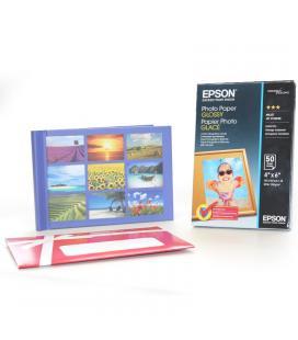 Pack papel epson s042547 + album de fotos de regalo