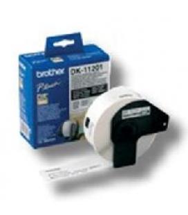 Etiquetas papel precortada brother dk11201 29 x 90 mm 400-e ql-500a ql-500bw ql-560 ql-570 ql-1050