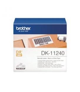 Etiquetas papel precortada brother dk11240 102 x 152 mm 200e ql1050/ ql1060n