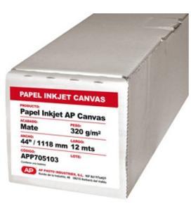"""Rollo papel kodak inkjet canvas app705103 ap matte 44"""" 1118mm x 12 mts"""