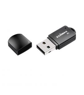 Adaptador wifi inalambrico mini usb edimax ac600 doble banda - Imagen 1