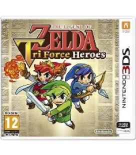 Juego 3ds - the legend of zelda tri force heroes - Imagen 1