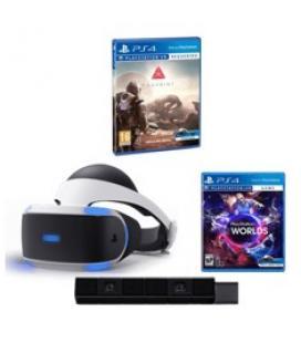 Gafas de realidad virtual sony ps4 + camara + juego vr world + juego farpoint - Imagen 1