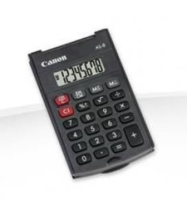 Calculadora canon bolsillo as-8 8 digitos/ tapa plegable - Imagen 1