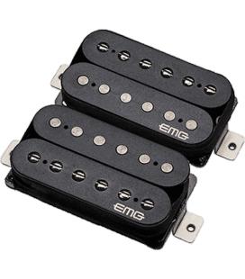 Set pastillas guitarra electrica Fat 55 Black - Imagen 1