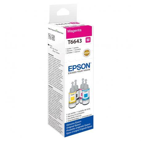 BOTELLA TINTA MAGENTA EPSON T6643 - Imagen 1