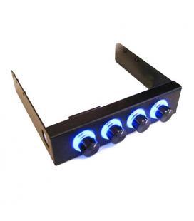 Regulador ventilador frontal 31/2 Negro - Imagen 1