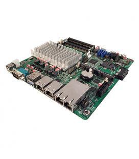 Jetway NF9HG-2930. THIN-Mini-ITX con 4 LAN y DC-DC - Imagen 1