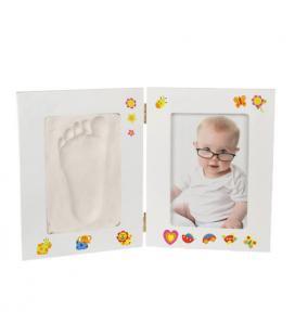Portafotos para Bebé con Kit de Yeso Manualidades Junior Knows - Imagen 1