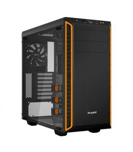 be quiet! Pure Base 600 Naranja con Ventana