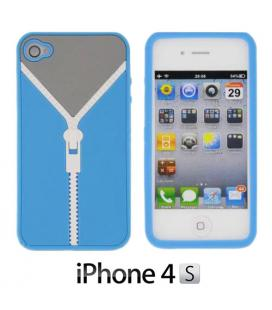 Funda iPhone 4/4S Cremallera Gadget and Gifts - Imagen 1