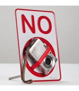 Placa Prohibido con Goma Gadget and Gifts - Imagen 1