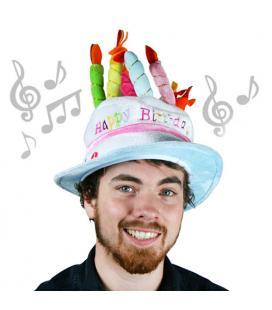 Gorro de Cumpleaños Musical Th3 Party - Imagen 1