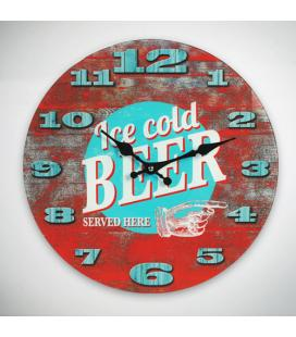 Reloj de Pared Ice Cold Beer Oh My Home