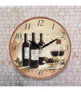 Reloj de Pared Vino Oh My Home