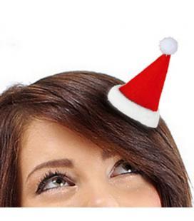Horquilla para Pelo Gorro Papá Noel Christmas Planet - Imagen 1