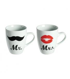 Tazas Mr & Mrs Romantic Items - Imagen 1