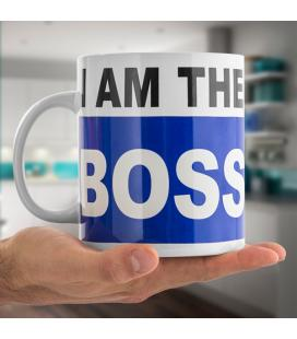 Taza XL I am the Boss Gadget and Gifts - Imagen 1