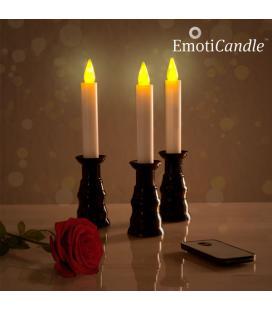 Velas LED Romantic Ambiance EmotiCandle (pack de 3) - Imagen 1