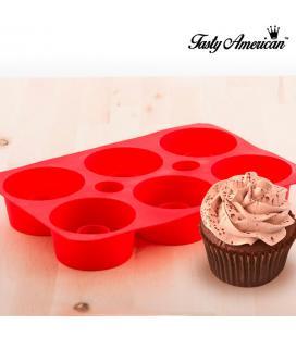 Molde de Silicona para Cupcakes Rellenos Tasty American - Imagen 1