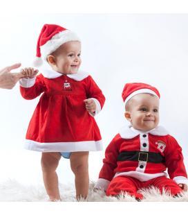 Disfraz de Papá Noel Infantil Christmas Planet - Imagen 1