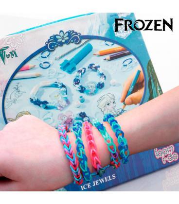 886ba33a8eed Gomitas para Hacer Pulseras con Abalorios Frozen