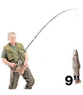 Set Caña de Pescar 2,70 m/9'' Adventure Goods - Imagen 1