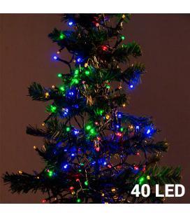 Luces de Navidad Multicolor Christmas Planet (40 LED) - Imagen 1