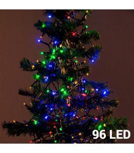 Luces de Navidad Multicolor Christmas Planet (96 LED) - Imagen 1