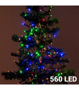 Luces de Navidad Multicolor Christmas Planet (560 LED) - Imagen 1