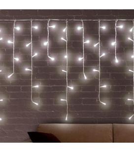 Luces de Navidad Blancas Carámbano Christmas Planet (200 LED) - Imagen 1