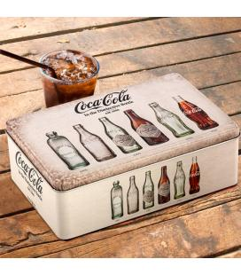 OUTLET Caja Vintage Metálica Coca-Cola (Sin Embalaje) - Imagen 1