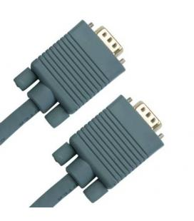 cable VGA HD15P-HD15P 3m. Gris