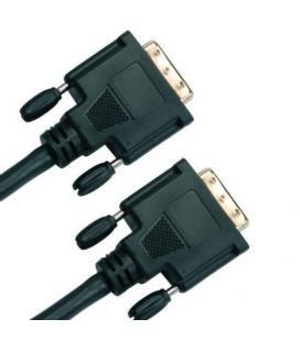 cable DVI-DVI 3m. Negro
