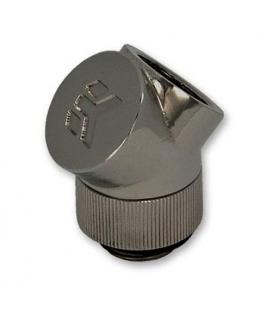 EK Adaptador EK-CSQ 45º G1/4 Black Nickel - Imagen 1
