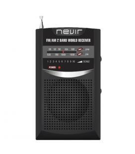 Radio nevir de bolsillo nvr-136 negro - Imagen 1