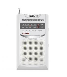 Radio nevir de bolsillo nvr-136 plata - Imagen 1