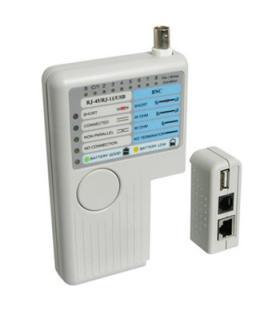 Probador de cables wp rj11/rj12/rj45/bcn/usb