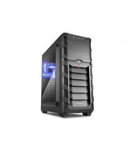 Sharkoon SKILLER SGC1 WINDOW Negro carcasa de ordenador