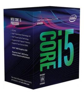 Intel Core ® i5-8600K Processor (9M Cache, up to 4.30 GHz) 3.6GHz 9MB Smart Cache Caja procesador